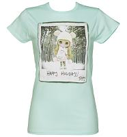Ladies Teal Ice Alpine Blythe T-Shirt