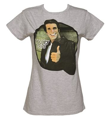 Ladies The Fonz Happy Days T-Shirt from Sticks and Stones