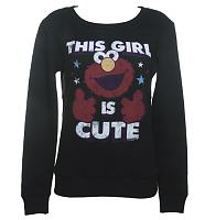 Ladies This Girl Is Cute Ladies Elmo Sweater
