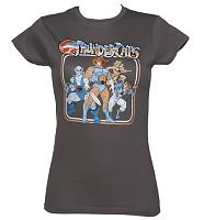 Ladies Thundercats Characters T-Shirt from Sticks and Stones