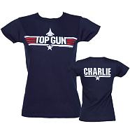 Ladies Top Gun Charlie T-Shirt