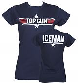 Ladies Top Gun Iceman T-Shirt