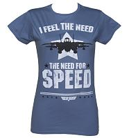 Ladies Top Gun Need For Speed T-Shirt