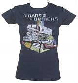 Ladies Transformers Automobiles T-Shirt