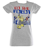 Ladies Transformers Do The Robot T-Shirt