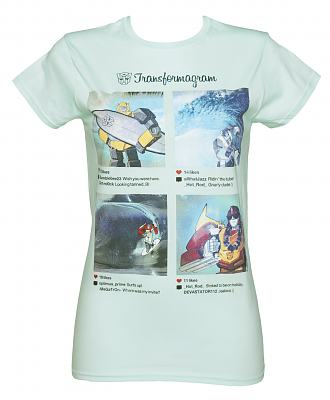 Ladies Transformers Instagram Summer T-Shirt