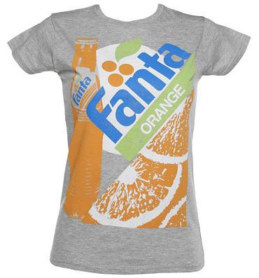 Ladies Vintage Fanta Bottle T-Shirt