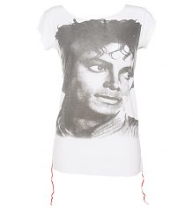 Ladies Michael Jackson Photographic T-Shirt from House Of The Gods [View details]
