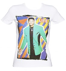 Ladies White Life Magazine US Sitcom Icon Cover 80's T-Shirt [View details]