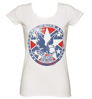 Ladies White Lynyrd Skynyrd 1974 T-Shirt from Amplified Vintage