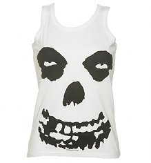 Ladies White Misfits Face Vest [View details]