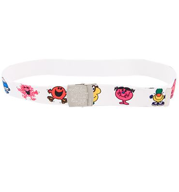 Little Miss and Mr Men Canvas Belt