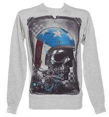 Men's American Helmet Oatmeal Sweater from Amplified Dark Souls [View details]