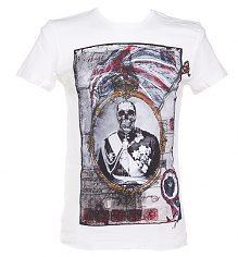 Men's Dead Monarch Off White T-Shirt from Amplified Dark Souls [View details]