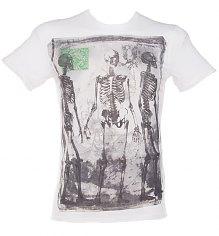 Men's Death Message Off White T-Shirt from Amplified Dark Souls [View details]