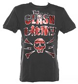 Men's Diamante Clash Skull T-Shirt from Amplified