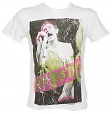 Men's Sex Pistols Johnny Rotten White T-Shirt from Amplified Ikons