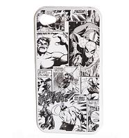 Marvel Comics Characters Vintage Print iPhone 4 Case