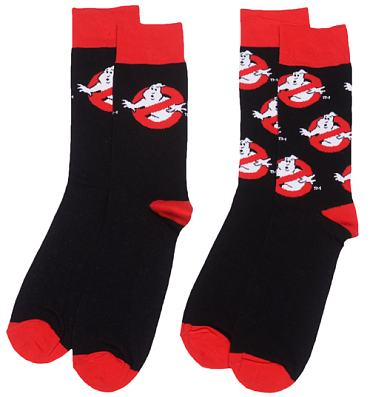 Men's 2pk Ghostbusters Logo Socks