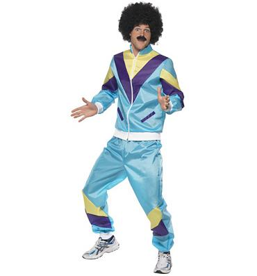 Men's 80's Shell Suit Fancy Dress Costume