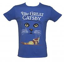 Men's Acid Blue The Great Catsby T-Shirt