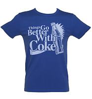 Men's Acid Wash Things Go Better With Coke Vintage T-Shirt