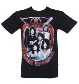 Men's Aerosmith Sweet Emotion Vintage Print T-Shirt