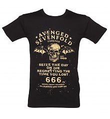 Men's Avenged Sevenfold Seize The Day T-Shirt [View details]