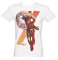 Men's Avengers Insignia Iron Man T-Shirt