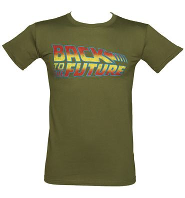 Men's Back To The Future Logo T-Shirt