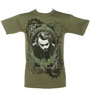 Men's Batman Dark Knight Joker Frame T-Shirt