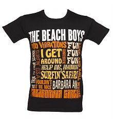 Men's Black Beach Boys Best Of SS T-Shirt [View details]