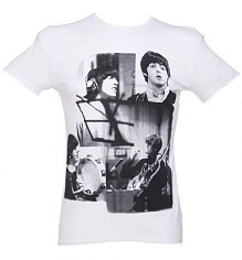 Men's Beatles Taxman Photo Montage T-Shirt from Amplified Ikons [View details]