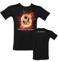 Men's Black 12th District Seal Hunger Games T-Shirt