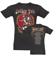 Men's Black 75 Tour Jethro Tull T-Shirt