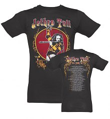 Men's Black 75 Tour Jethro Tull T-Shirt [View details]