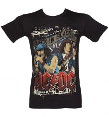 Men's Black Angus And Brian AC/DC T-Shirt [View details]
