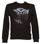 Men's Black Autobot Transformers Sweater