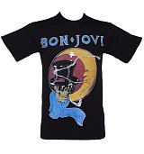 Men's Black Bon Jovi 1987 T-Shirt