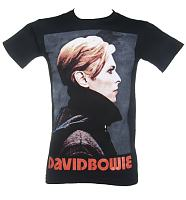 Men's David Bowie Low Portrait T-Shirt