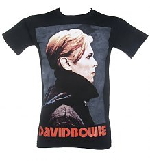 Men's David Bowie Low Portrait T-Shirt [View details]