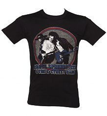 Men's Black Bruce Springsteen An The E Street Band T-Shirt [View details]