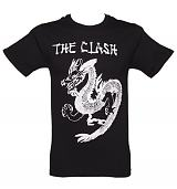 Men's Black Clash Dragon T-Shirt