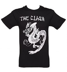 Men's Black Clash Dragon T-Shirt [View details]