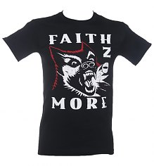 Men's Black Faith No More King For A Day T-Shirt [View details]