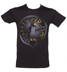 Men's Black Fleetwood Mac Penguin Logo T-Shirt [View details]