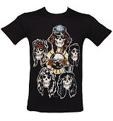 Men's Guns N Roses Vintage Heads T-Shirt