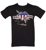 Men's Black Heartbreaker Tom Petty T-Shirt
