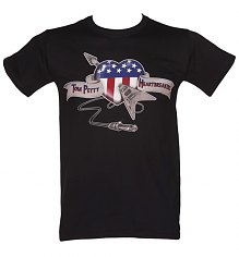 Men's Black Heartbreaker Tom Petty T-Shirt [View details]