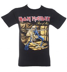 Men's Black Iron Maiden Piece Of Mind T-Shirt [View details]